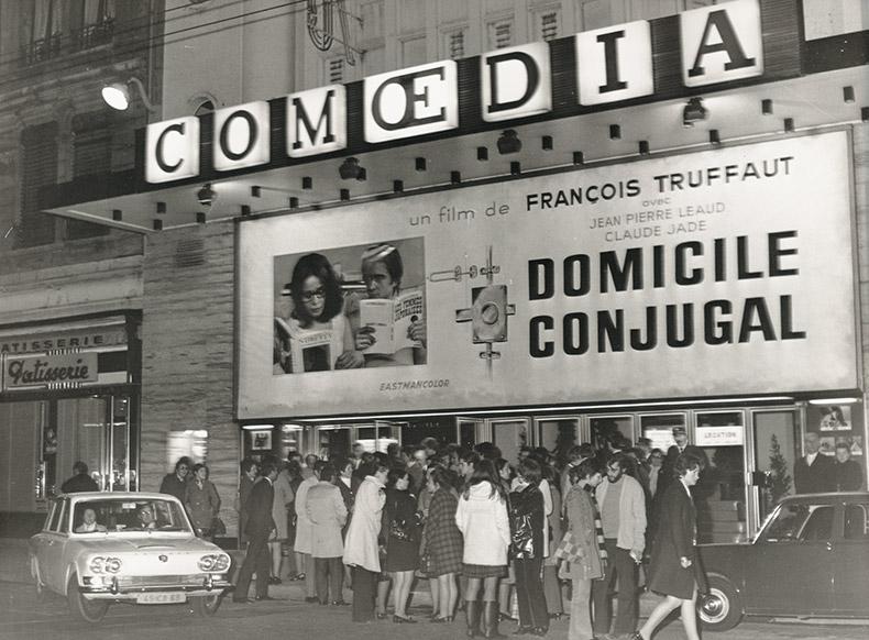 Historique du Cinéma Lyon - Comoedia